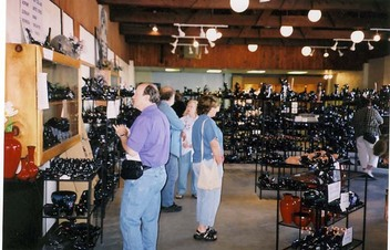 Visiting the Blue Mountain Facotry Gift Store 2004